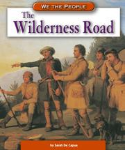 Cover of: The Wilderness Road