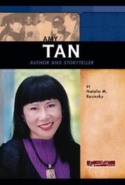 Cover of: Amy Tan: Author And Storyteller (Signature Lives)