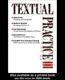 Textual Practice by Terence Hawkes