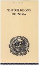 Cover of: India: Religion and Philosophy: Trubner's Oriental Series