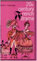 Cover of: Twentieth Century French Drama