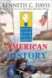 Cover of: Don't know much about American history