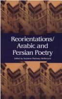Cover of: Reorientations/Arabic and Persian Poetry