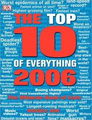 Cover of: Top Ten of Everything 2006 (Top 10 of Everything) | Russell Ash