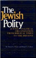 Cover of: The Jewish polity