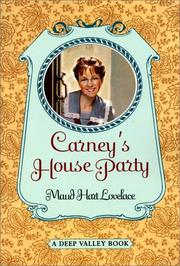 Cover of: Carney's House Party (Deep Valley #1)