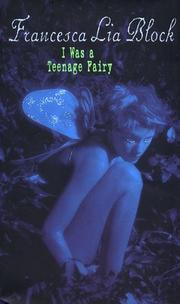 Cover of: I Was a Teenage Fairy