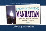 Cover of: Postcards from Manhattan | George J. Lankevich