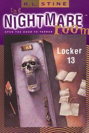 Cover of: Locker 13 (The Nightmare Room)