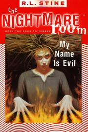 Cover of: My name is evil
