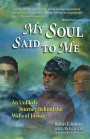 Cover of: My Soul Said to Me