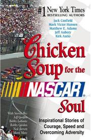 Cover of: Chicken Soup for the NASCAR Soul | Jack Canfield