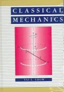 Cover of: Classical Mechanics - Solutions Manual by TL Chow