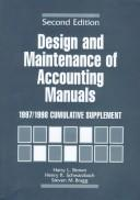 Cover of: Design and Maintenance of Accounting Manuals | Harry L. Brown