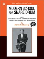 Cover of: Modern School: Snare Drum