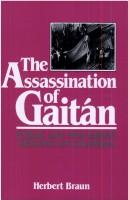 Cover of: The Assassination of Gaitan