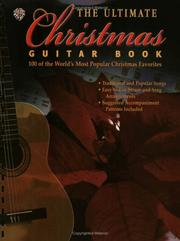 Cover of: Ultimate Christmas Guitar Book | Alfred Publishing