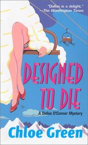 Cover of: Designed To Die (Dallas O'Connor Mysteries)