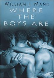 Cover of: Where the boys are | William J. Mann