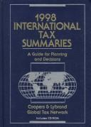 Cover of: International Tax Summaries | Coopers & Lybrand.