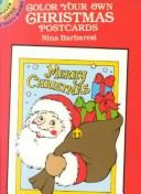 Cover of: Color-Your-Own Christmas Postcards