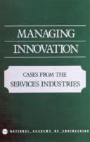 Cover of: Technology in Services | National Academy of Engineering.