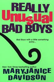 Cover of: Really Unusual Bad Boys