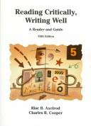 Cover of: Reading critically, writing well | Rise B. Axelrod