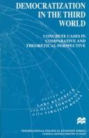 Cover of: Democratization in the Third World |