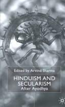 Cover of: Religion and Secularism in India: After Ayodhya