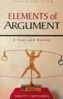 Cover of: Elements of an Argument