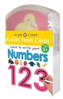 Cover of: Wipe Clean Flash Cards 123 (Wipe Clean)