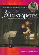 Cover of: The Greenwood Companion to Shakespeare | Joseph Rosenblum