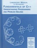 Cover of: Laboratory Manual to Fundamentals of C++ | Kenneth Lambert