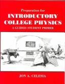 Cover of: Preparation for introductory college physics
