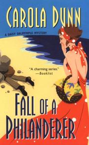 Fall of a Philanderer (Daisy Dalrymple Mysteries)
