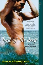 Cover of: Lord of the Deep (Aphrodisia) Book 1 of The Elementals | Dawn Thompson