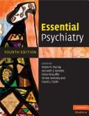 Cover of: Essential psychiatry |