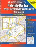 Cover of: Rand McNally Raleigh/Durham Streetfinder |