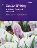 Cover of: Inside Writing: A Writer