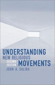 Cover of: Understanding New Religious Movements | Saliba John A.