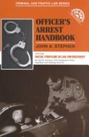 Cover of: Officer's Arrest Handbook