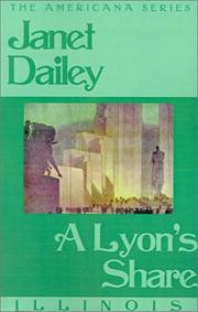 Cover of: A Lyons Share (Janet Dailey Americana) | Janet Dailey