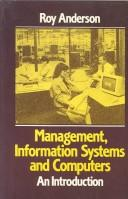 Cover of: Management, Information Systems and Computers