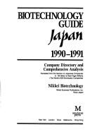 Cover of: Biotechnology guide, Japan |