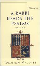 Cover of: RABBI READS THE PSALMS