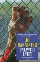 Cover of: Unlawful Entry