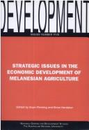 Cover of: Strategic Issues in the Economic Development of Mel