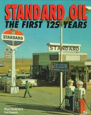 Cover of: Standard oil