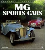Cover of: MG sports cars